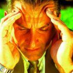 Головные боли из-за эмоционального напряжения