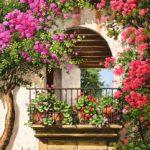 Украшаем балкон