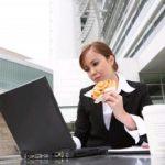 Питание при сидячей работе