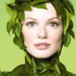 Зеленая косметика