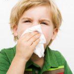 Как побороть насморк у ребенка